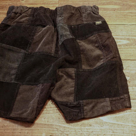 """NASNGWAM"" Skelter Shorts(Corduroy/Black)"