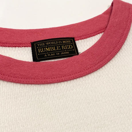 """RUMBLE RED"" Crew Neck Thermal Shirts"
