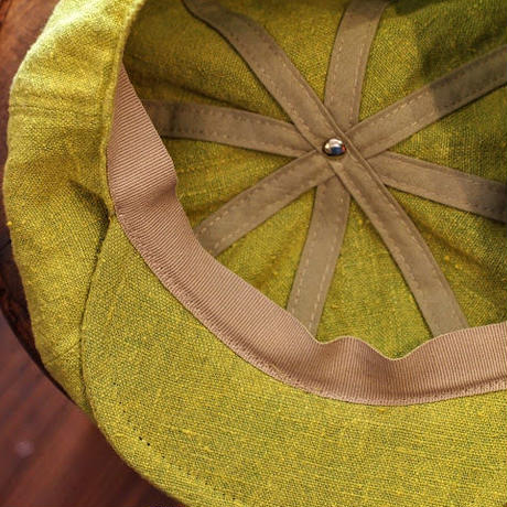 """m.m Orchestra""Linen Casquette Made in ITALY by TESI"