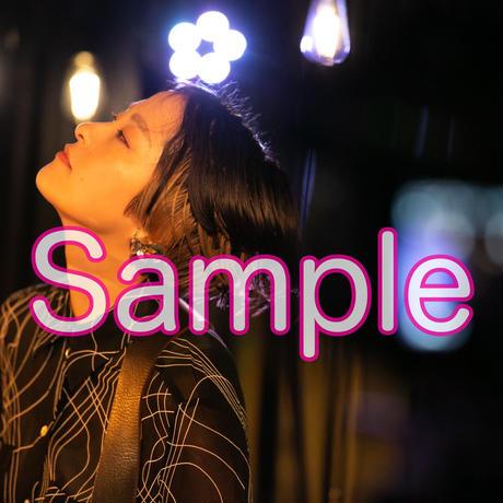 見田村千晴 Band Set Live 「大全員最前」ライブ写真セット(2枚組・直筆サイン入り)