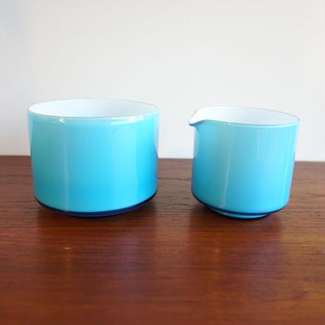 Holmegaard シュガー&ミルク入れ hg-003