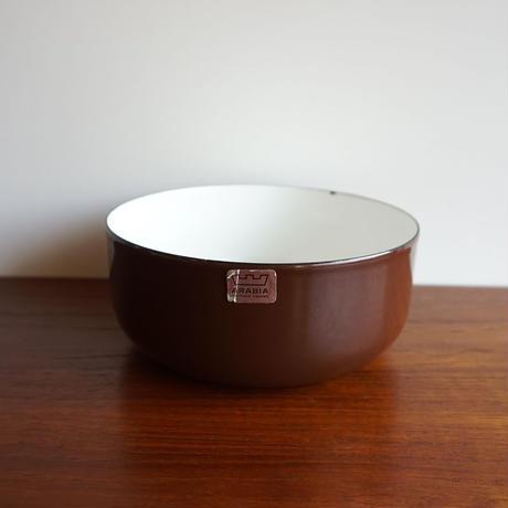 FINEL 14cmローエッジボウル  ブラウン finel-033