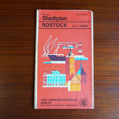 ドイツ ロストック地図 book-005