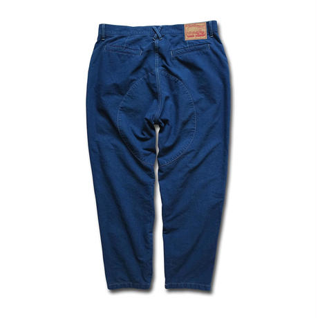 【DEAD STOCK!】100%PURE ORGANIC COTTON DUNGAREE PANTS(藍染)