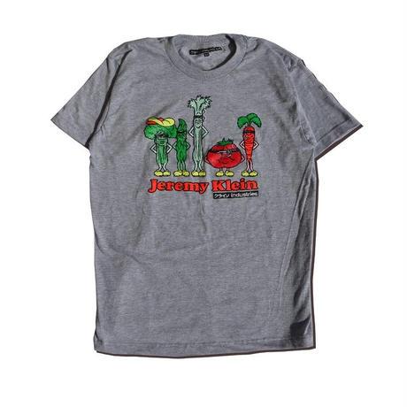 クラインindustries Silk Screened Vegetables T-shirts