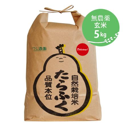 《令和1年度産》たらふく玄米5kg [つじ農園] made in 三重県