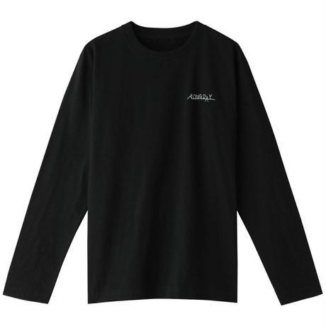 A LONG DAY LONG Tシャツ[BLACK]