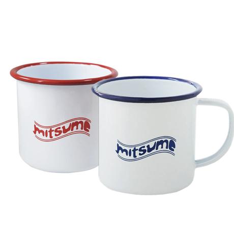mitsume ホーローマグカップ