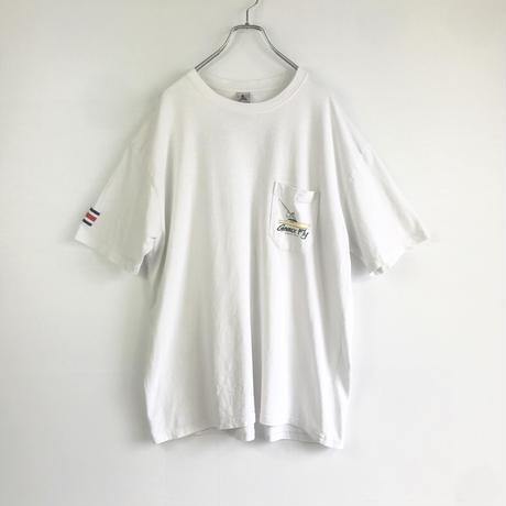 古着 コスタリカ製 オーバーサイズ ポケット Tシャツ