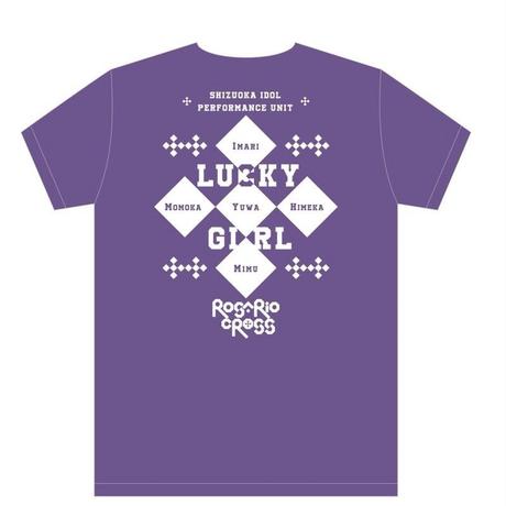 ※残りわずか【ROSARIO+CROSS】Tシャツ2018(紫)