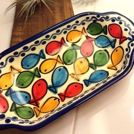 花柄・グラタン皿