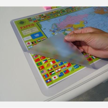 コンパクト学習マット わんこ・にゃんこ サイズ:510X40X1.0㎜
