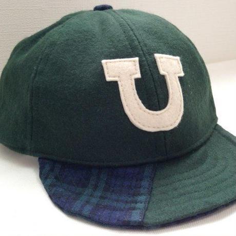 アルファベットキャップ(ローキャップ)「U」