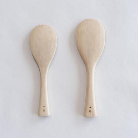 一般杓子 ミズメザクラ(6寸半)※写真の小さい方