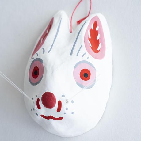 宮島張り子 (うさぎ面)
