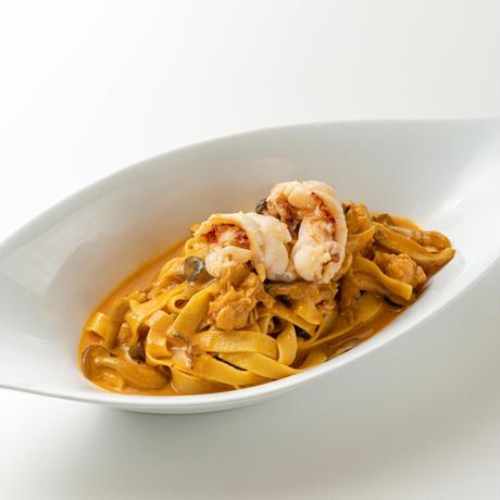 オマール海老とキノコのクリームパスタ(2食分)