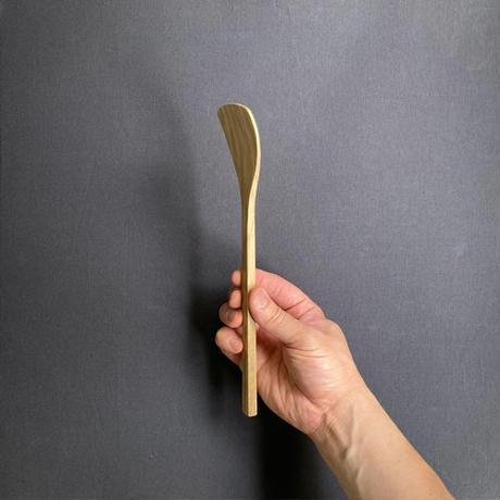 イチョウ型ヘラ 24cm