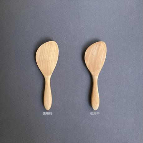 丸柄ナナメ杓子 20cm