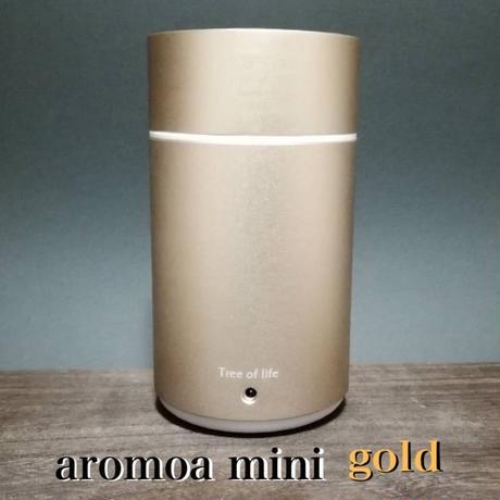 エッセンシャルオイル ディフューザー アロモアmimi  ゴールド