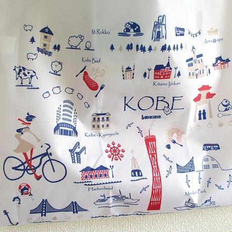 エコバッグ(旅するマチルダ  神戸)オフホワイト