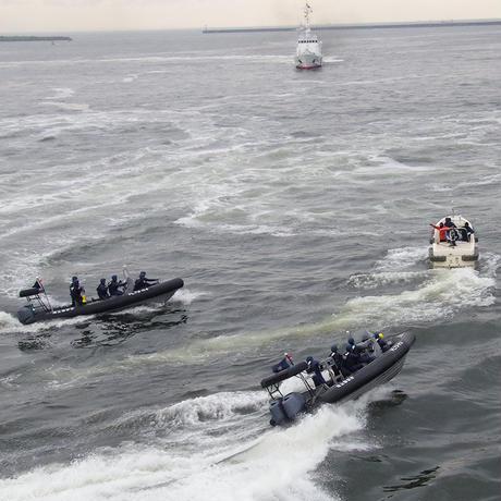 第五管区海上保安本部コラボ  A4クリアファイル
