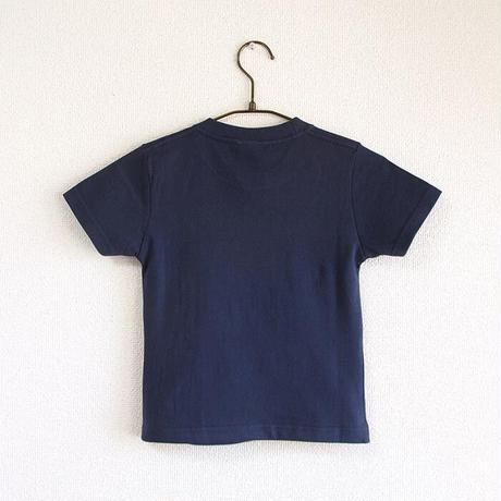 神戸市消防局コラボこどもTシャツ ブルー (救急車)