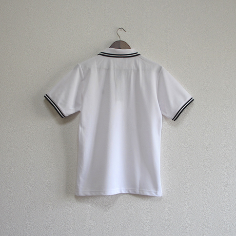 おとなラインポロシャツ ホワイト(旧神戸港信号所)