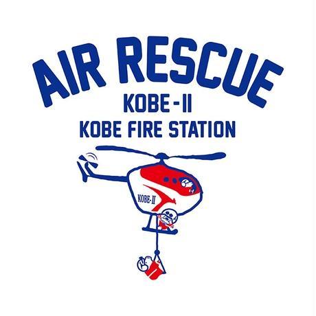 神戸市消防局コラボトートバッグ ナチュラル(エアレスキュKOBE-Ⅱ)