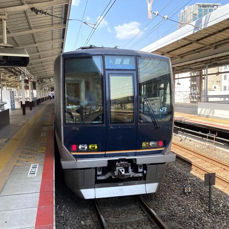 JRジップトートバッグ ネイビー(普通電車321系)