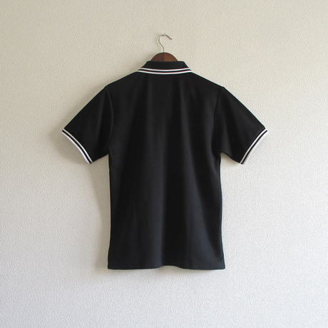 おとなラインポロシャツ ブラック(イカリ)