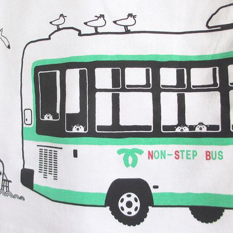 神戸市交通局コラボ こどもTシャツ ホワイト(神戸市バス)