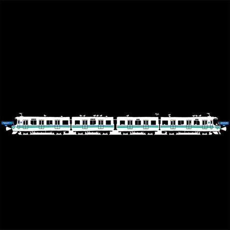 神戸市交通局コラボ おとなTシャツ ブラック(地下鉄海岸線)