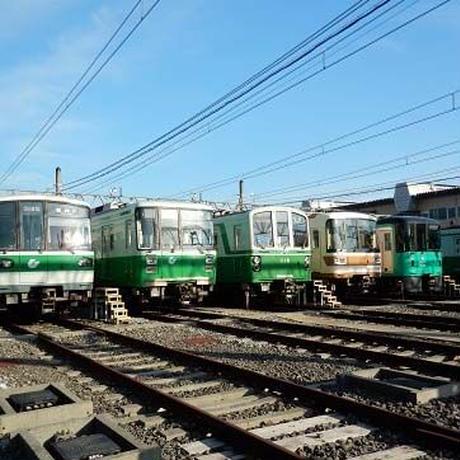 神戸市交通局コラボこどもTシャツ ブルー (地下鉄西神・山手線)