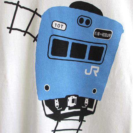 こども半袖Tシャツ ホワイト (103系 JR和田岬線)