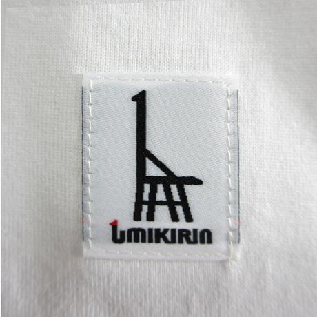 こどもTシャツ ホワイト(摩耶山のレトロロープウェー)