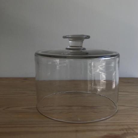 ガラスのクロシェ  17.5cm  19C France