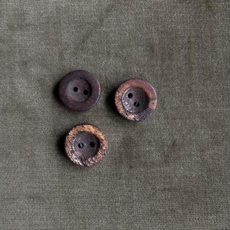 木のボタン15mm 3個セット