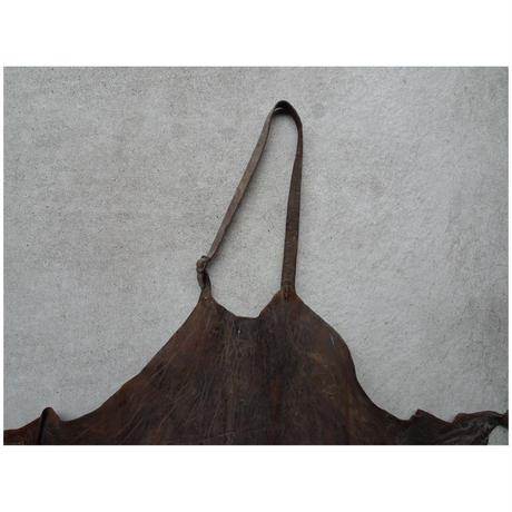 革のタブリエ エプロン 19世紀フランス