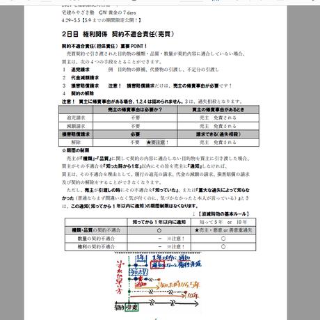 【期間限定無料DL~5.9日まで】宅建みやざき塾 2021GW黄金の7days  重要法改正編