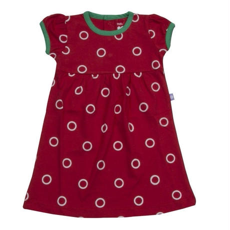 HUGABUG Polka Dot Dress Red 80/ 92cm
