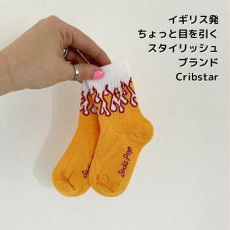 Cribstar ソックス Flames 13-15/ 15-16/ 17-19.5/ 19.5-22cm