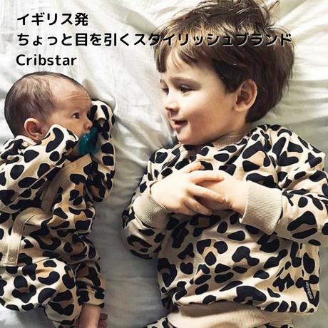 Cribstar レオパードスウェット 92/ 98/ 104/ 110/ 116/ 122/ 128/ 140cm