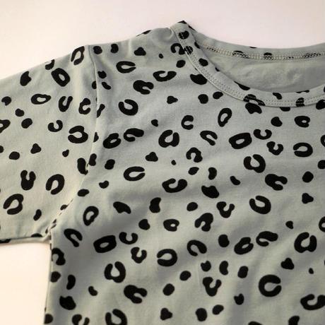 Leopard Pajama Blue 100~140cm