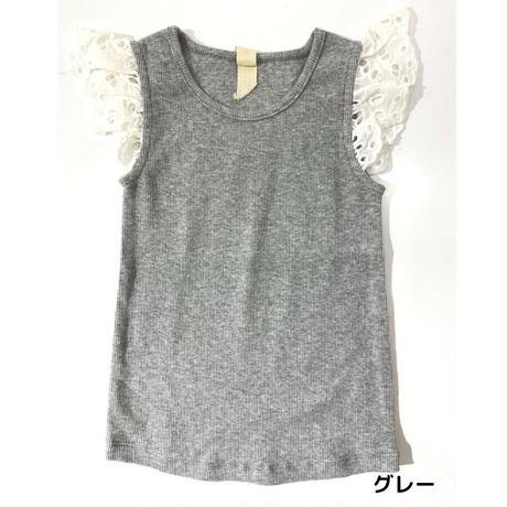 Vignette LACE Shirt Gray 92/ 98/ 104/ 110/ 116/ 122/ 128/ 140/ 146-152cm