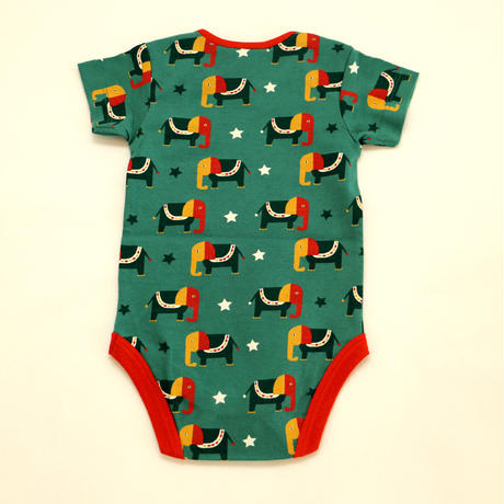 Little Green Radicals Starry Eyed Elephant Baby Body 2枚セット 72/ 80/ 86cm