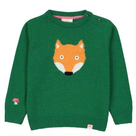 Tootsa FOX Jaquard Knit Green 92/ 98/ 104cm