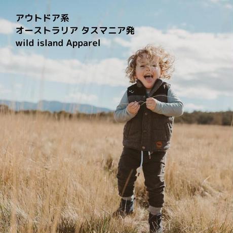 wild island Apparel エコパフベスト 92-140cm