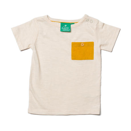Little Green Radicals Powderpuff Cream Pocket T 98/ 104/ 110/ 116/ 122cm