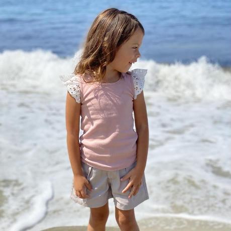 Vignette LACE Shirt Pink 92/ 98/ 104/ 110/ 116/ 122/ 128/ 140/ 146-152cm