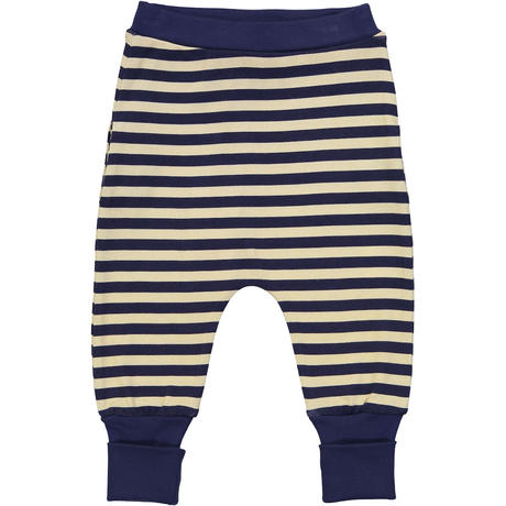 Tootsa Essential Striped Pants ベビーパンツ2枚セット Sun & Navy 80/ 86/ 92cm
